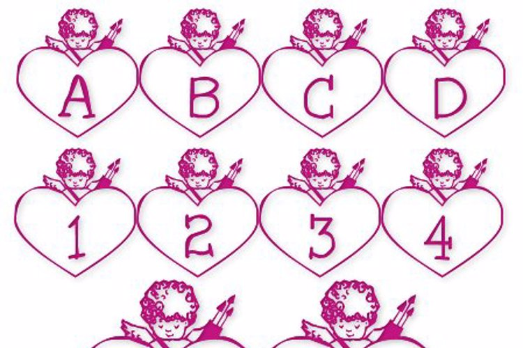 LCR Cupid's Heart Font