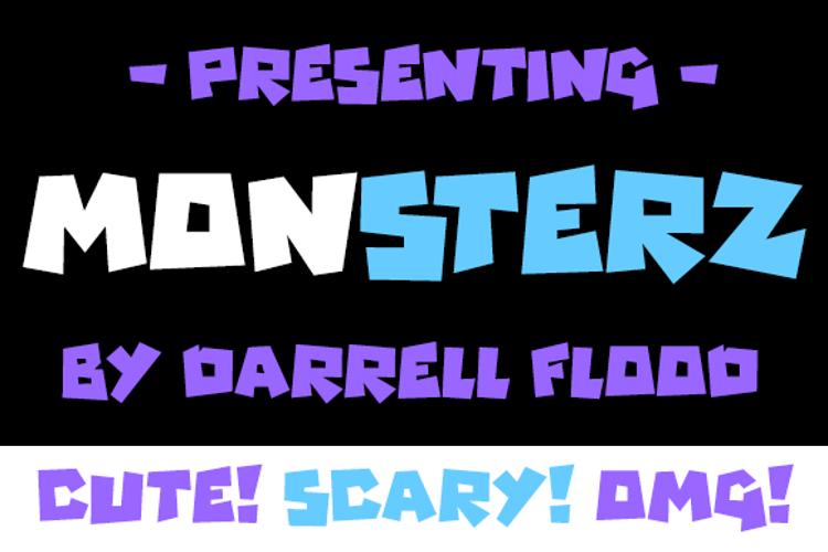 Monsterz Font