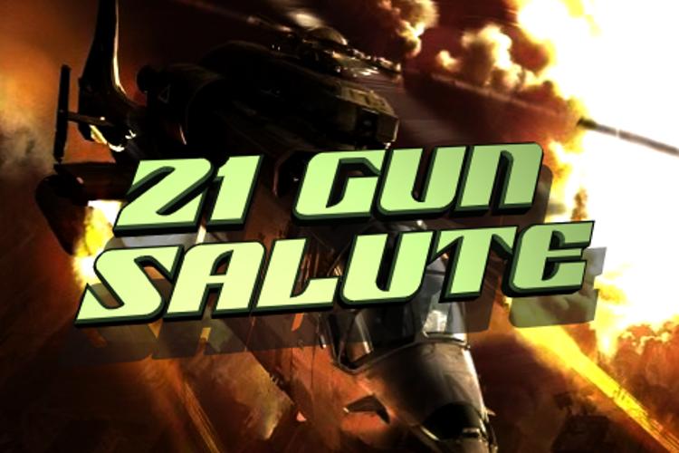 21 Gun Salute Font