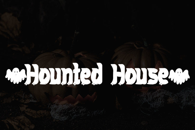 Hounted House Font