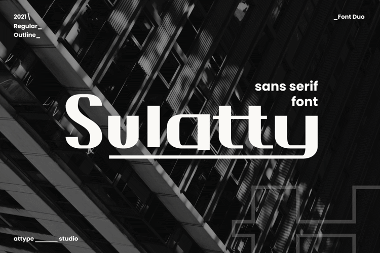 Sulatty Font