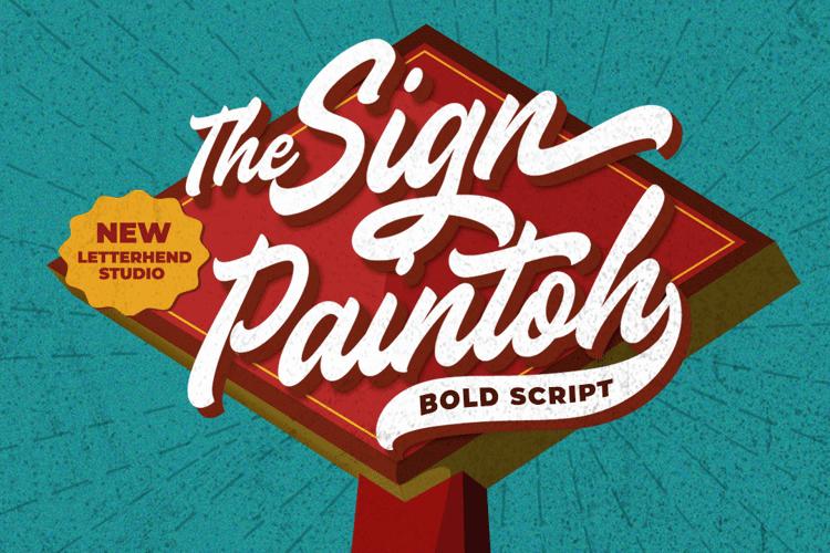 Sign Paintoh Font