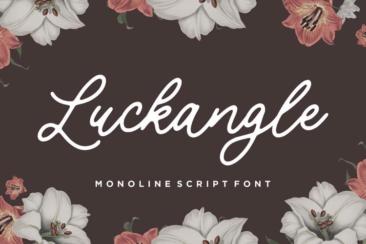 Luckangle Font