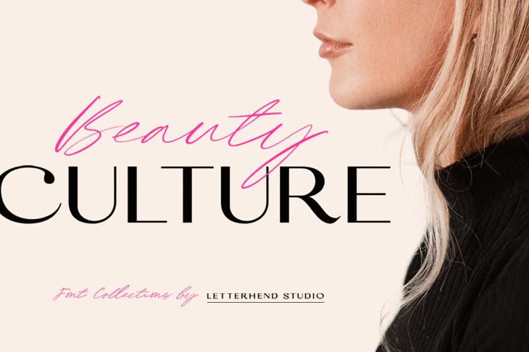 Beauty Culture Sans Font