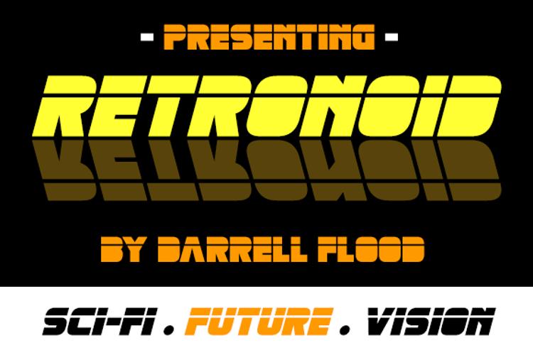 Retronoid Font