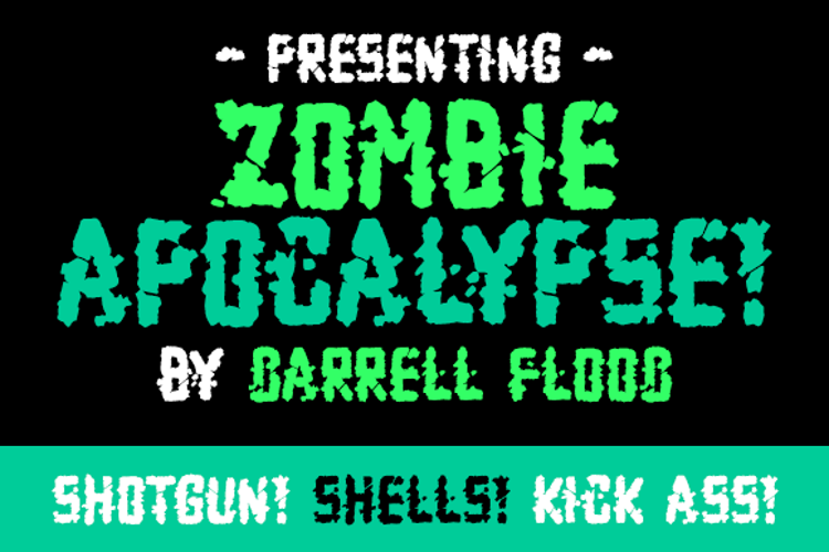 Zombie Apocalypse Font