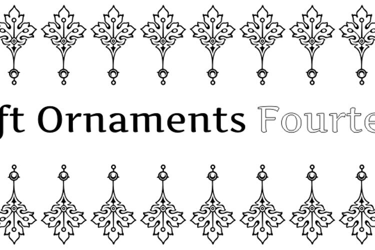 Soft Ornaments Fourteen Font