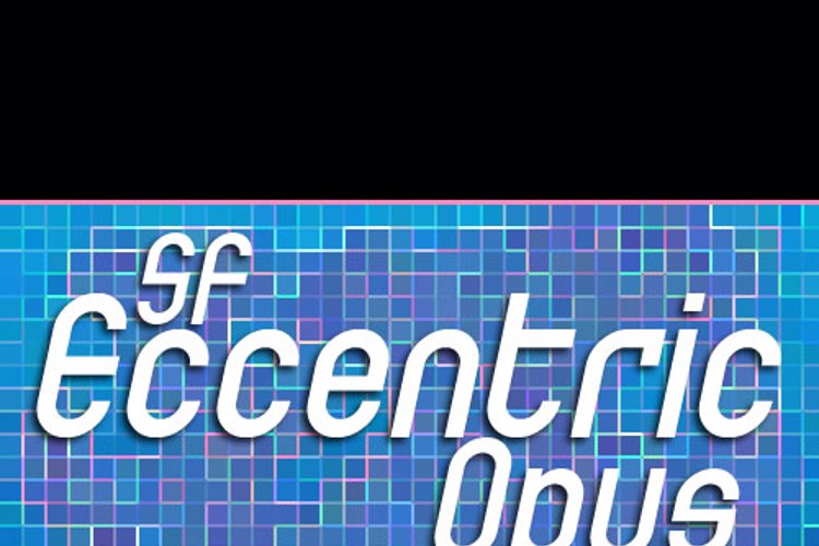 SF Eccentric Opus Font