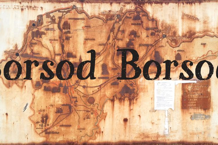 Sorsod Borsod Demo Font