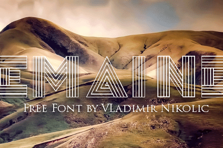 Remained Font