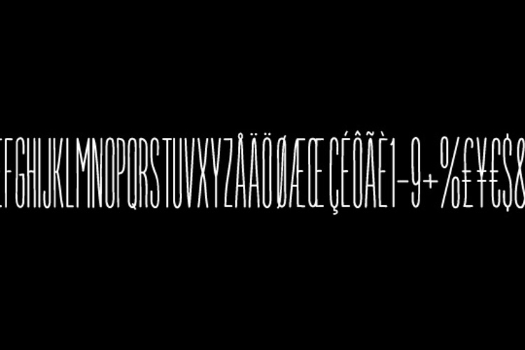 Jumping the Couch Font