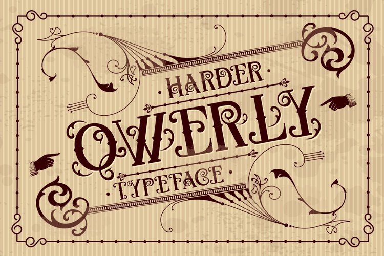 QWERLY Font