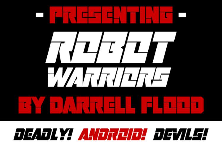 Robot Warriors Font