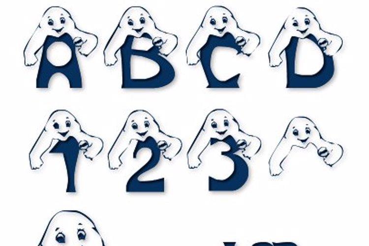 LCR Peek A Boo Font