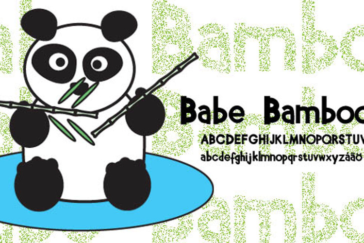 Babe Bamboo Font