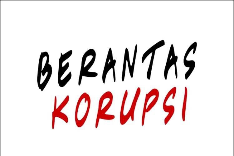 Berantas Korupsi Font