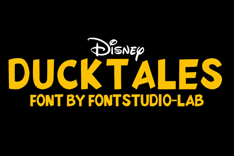 DuckTales Font