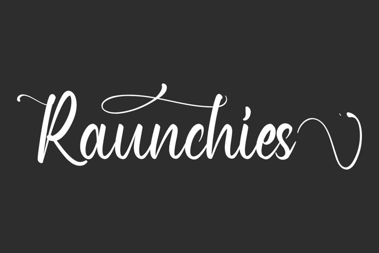 Raunchies Font