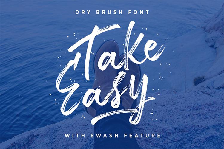 Take Easy DEMO Font
