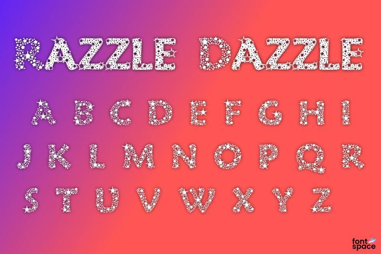 Razzle Dazzle Font