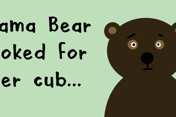 DK Mama Bear Font
