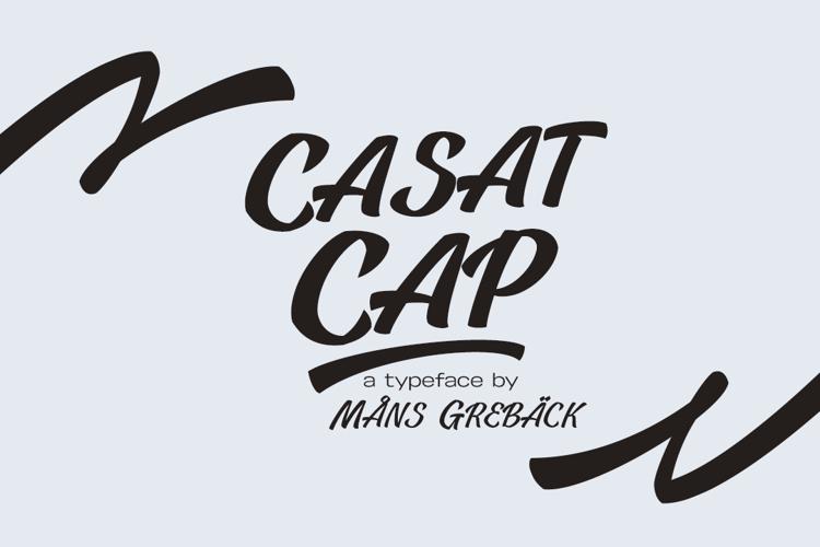Casat Cap Font