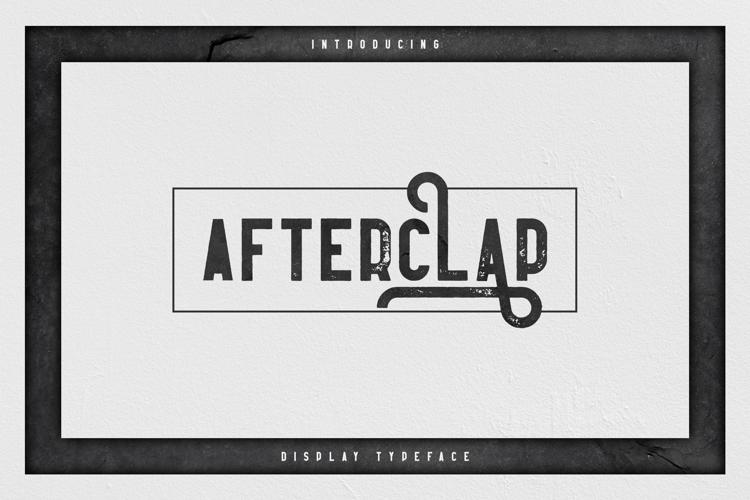 Afterclap Font