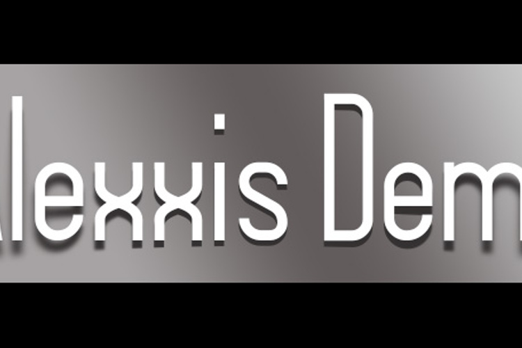 Alexxis Demo Font