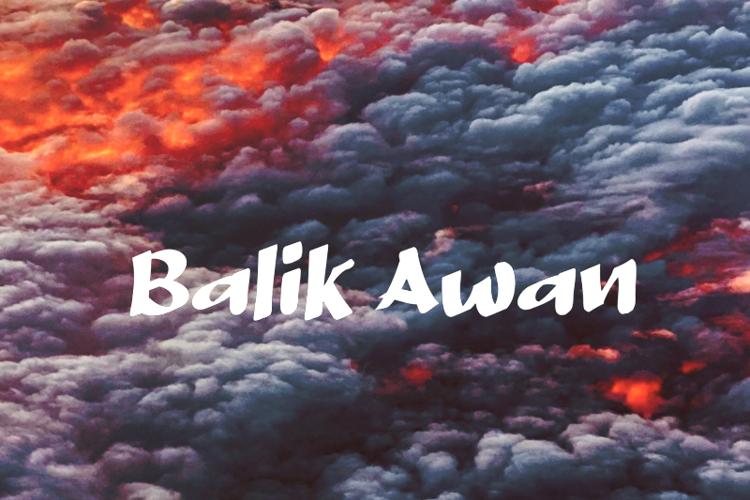 b Balik Awan Font