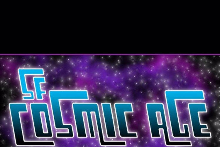 SF Cosmic Age Font