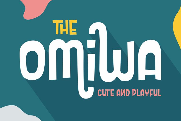 Omiwa Cute and Playful Font