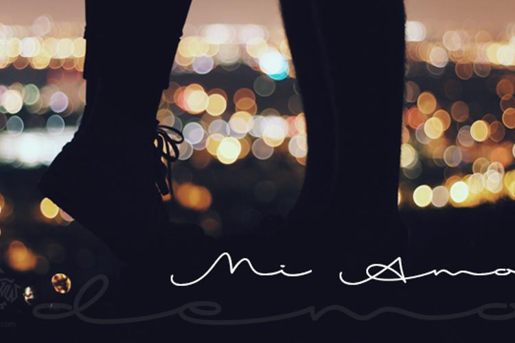 Mi Amor Font