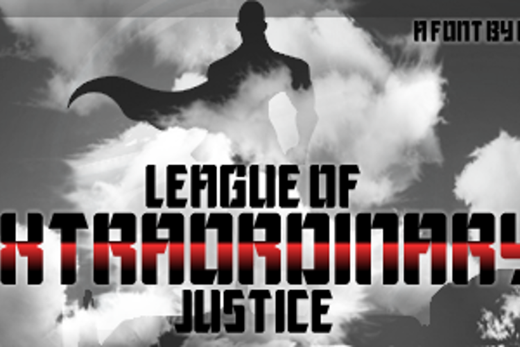 League of Extraordinary Justice Font