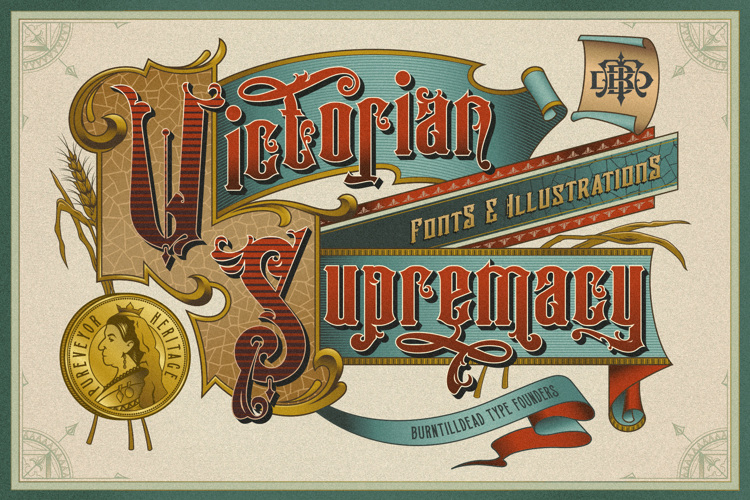 Victorian Supremacy Demo Ver. Font