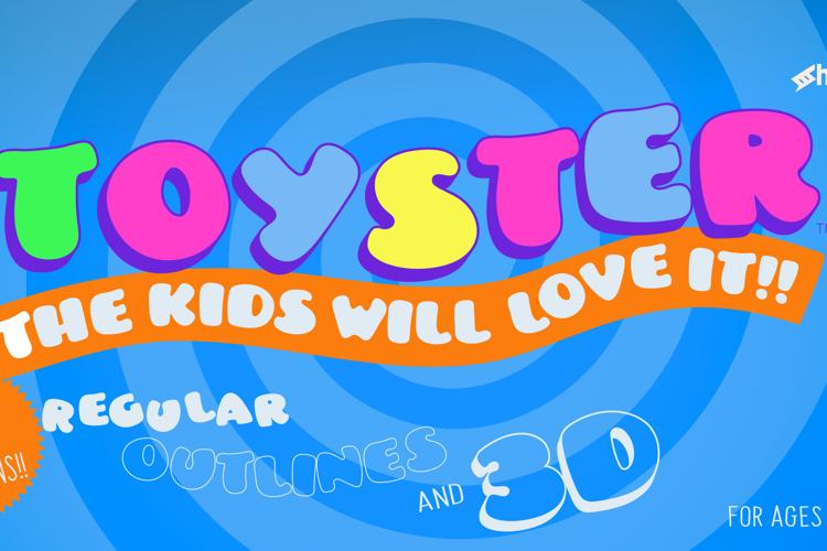 Toyster Font