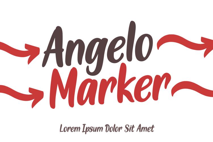 Angelo Marker Font