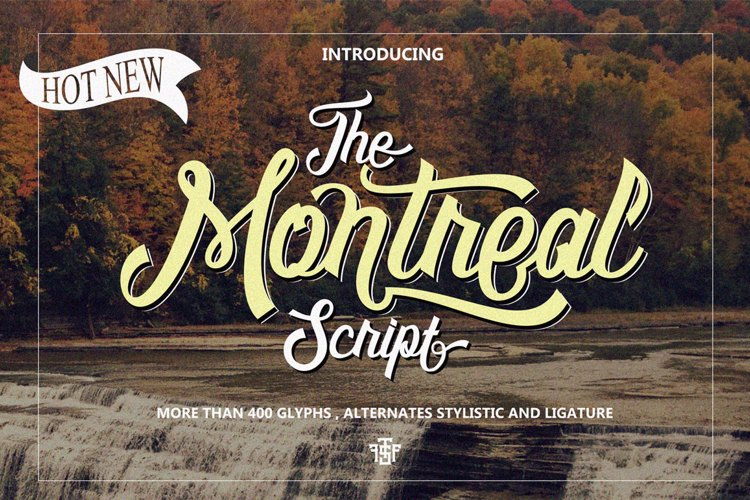 Montreal Script Font