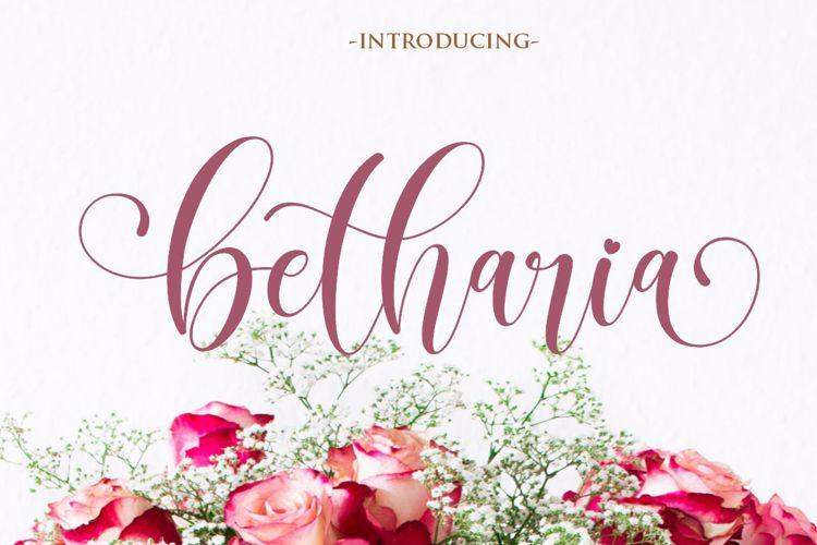 betharia Font