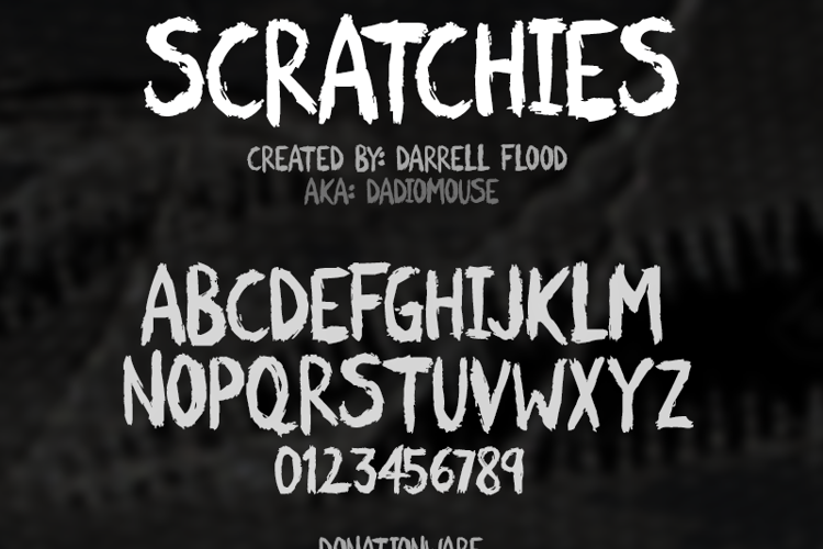 Scratchies Font