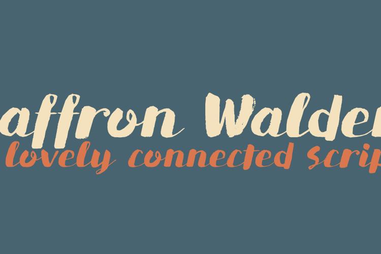 DK Saffron Walden Font