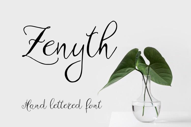 Zenyth Font