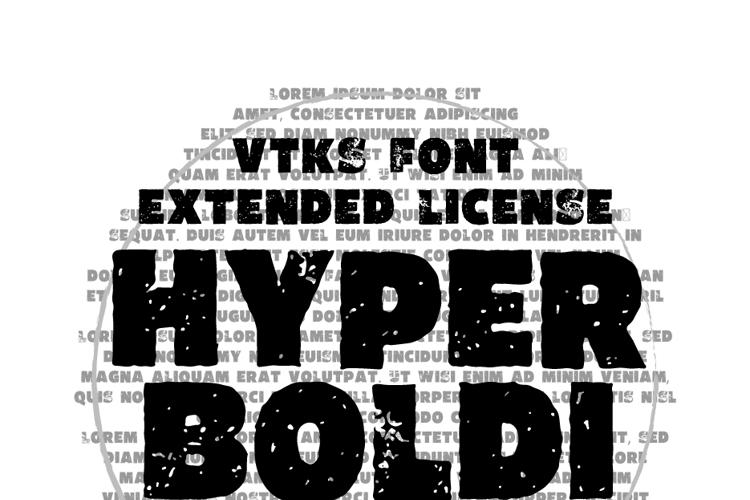 Vtks HyperBoldi Font