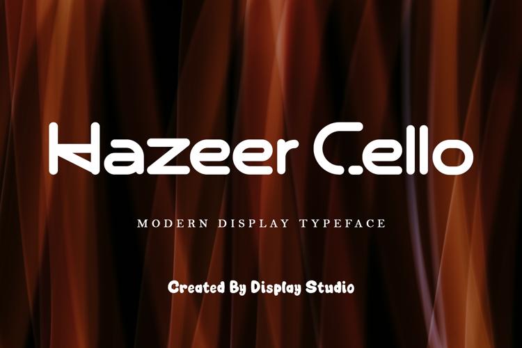 Hazeer Cello Font