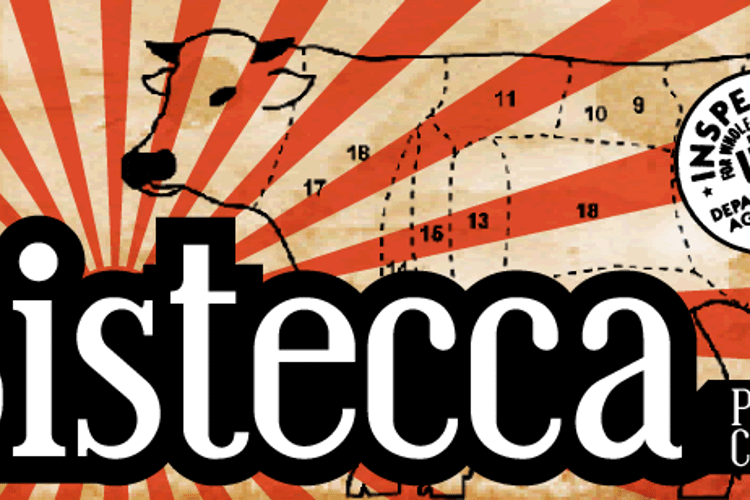 Bistecca Font