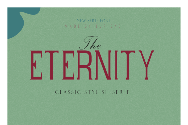 Eternity Time Font