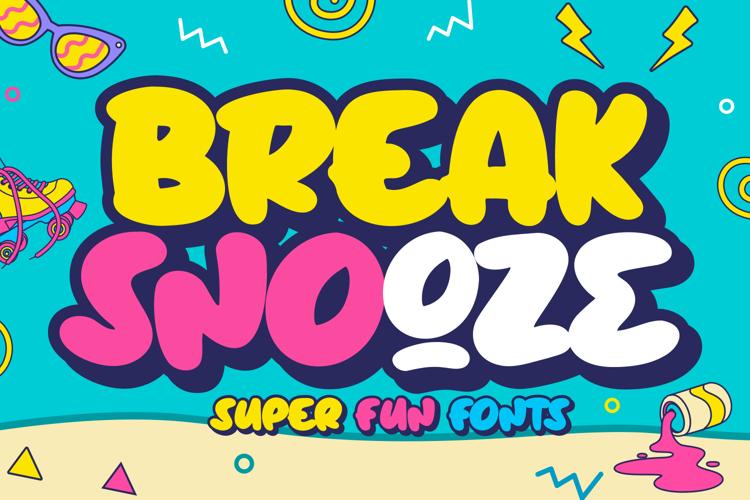 Break Snooze Font