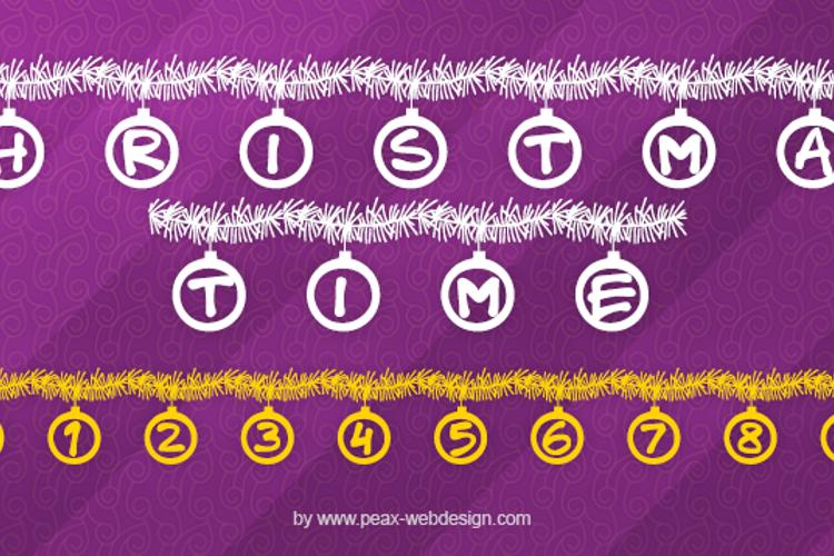 PWChristmastime Font