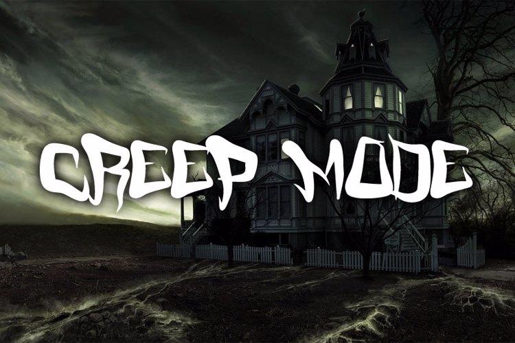 FM Creep Mode Font