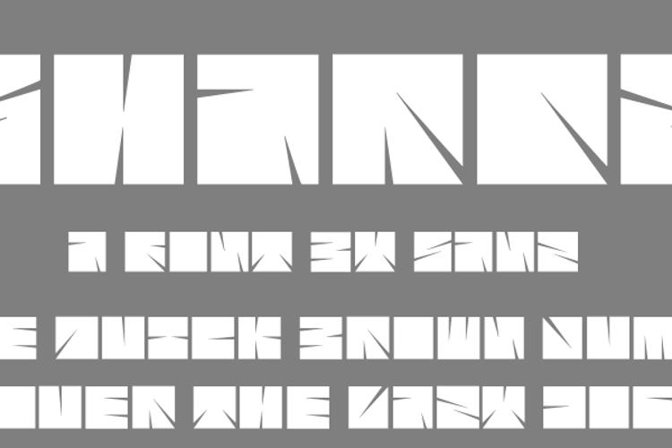 Sharpz Font