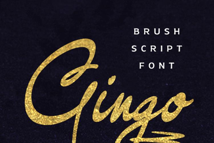 Gingo Font